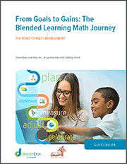 From Goals to Gains: The Blended Learning Math Journey