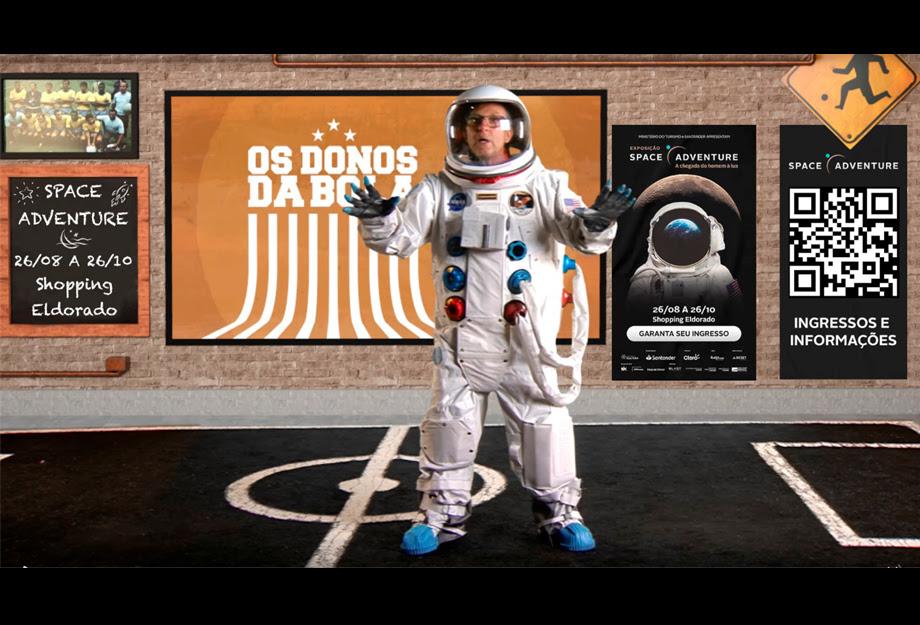 Na próxima semana o craque Neto flutua pelo espaço e joga futebol na gravidade