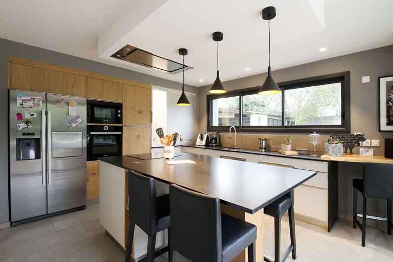 Sử dụng màu đen trong trang trí bếp: Kết quả vừa sạch vừa đẹp đến khó tin - Ảnh 11.