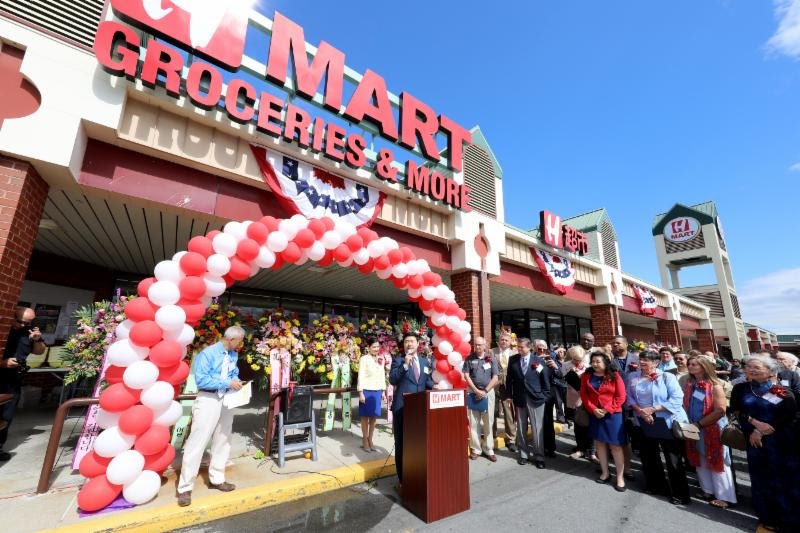 H Mart Grand Opening