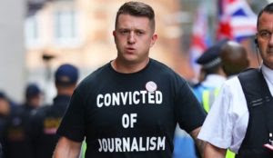 Sharia justice in the UK: Tommy Robinson gets nine months prison for contempt of court