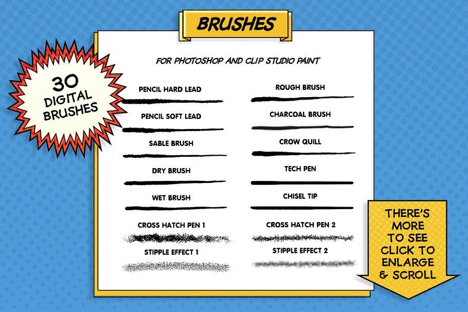 Comic Brushes