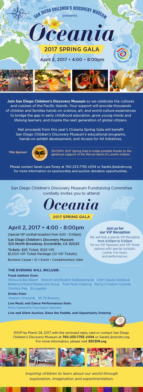 2017 Spring Gala: Oceania