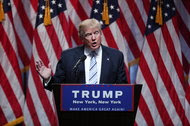 During a news conference at a Manhattan hotel in July, Donald J. Trump announced that Gov. Mike Pence of Indiana would be his running mate.