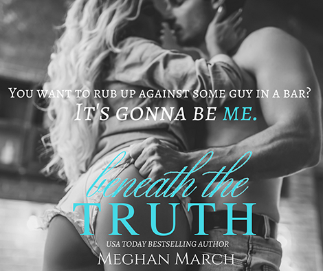 Beneath the Truth by Meghan March (cover photo)