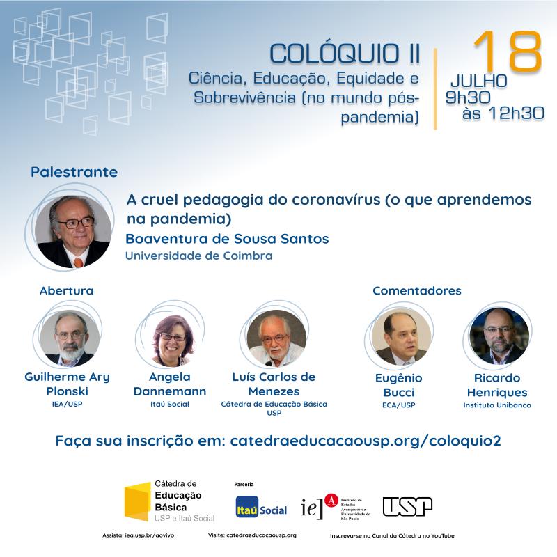 Colóquio II 2020 - Cátedra Educação Básica da USP