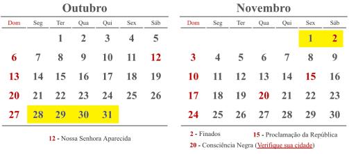 calendario-outubro-novembro-finados-2019