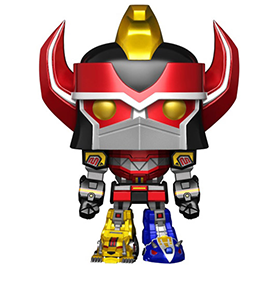 FUNKO POP! METALLIC MEGAZORD EXCLUSIVE