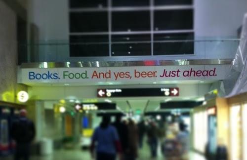 beer in airport