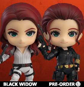 Black Widow Nendoroid No.1520 Black Widow (DX Ver.)