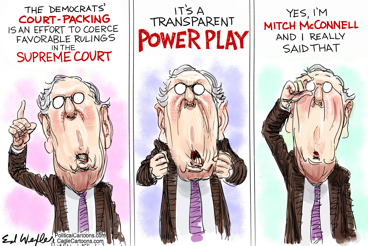 MCCONNELL, COURT PACKING, EXPAND SUPREME COURT, RESHAPE JUDICIARY, JUDICIAL NOMINATIONS, MERRICK GARLAND, BIDEN, SUPREME COURT, SATIRE.png