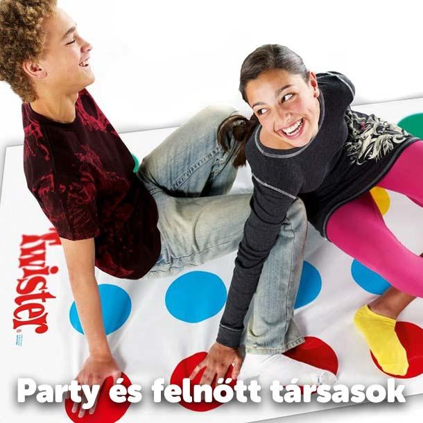 Party és felnőtt társasok