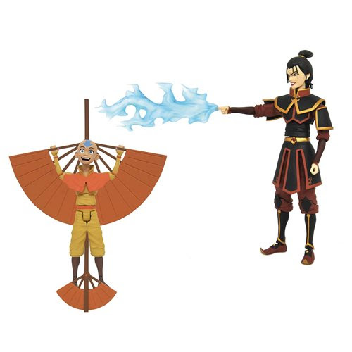 Image of Avatar: The Last Airbender Series 2 Action Figure Set of 2 - NOVEMBER 2020