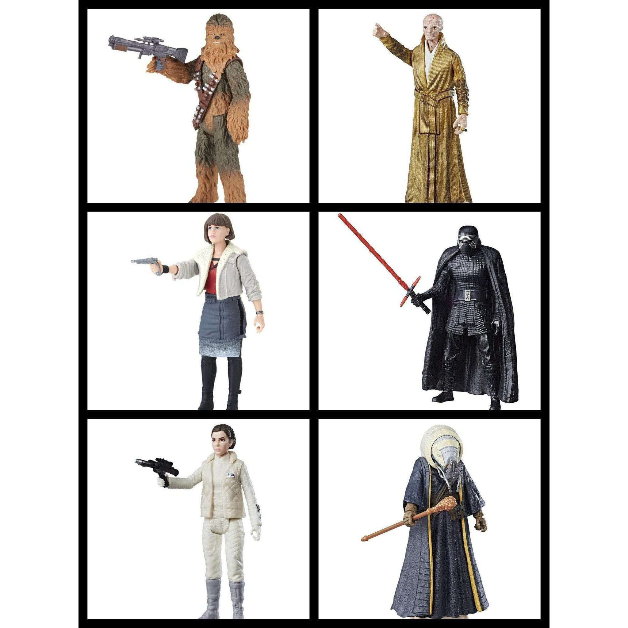 """Image of Star Wars Force Link 2.0 3.75"""" Figures Wave 2 - Complete Set of 6"""