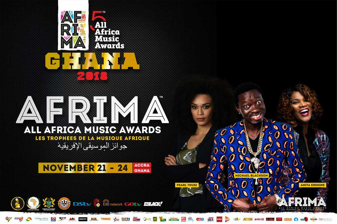 Pic 1- AFRIMA Host amp Hostess