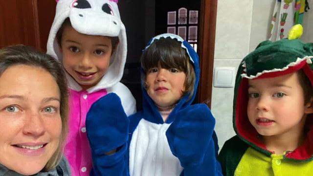 Com Covid-19, Piovani agradece Scooby por apoio com filhos: 'Parceiro'