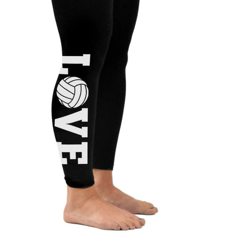 Volleyball Love Leggings