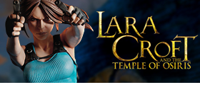 LARA CROFT TEMPLE OF OSIRIS STATUE