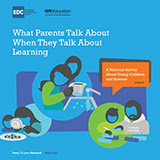 What Parents Talk About When They Talk About Learning Report cover
