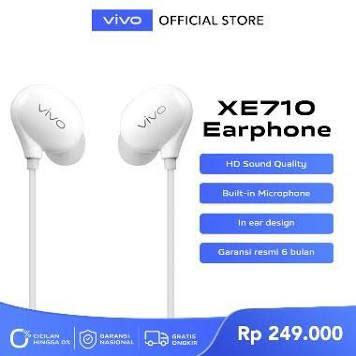 vivo Wired Earphone XE710
