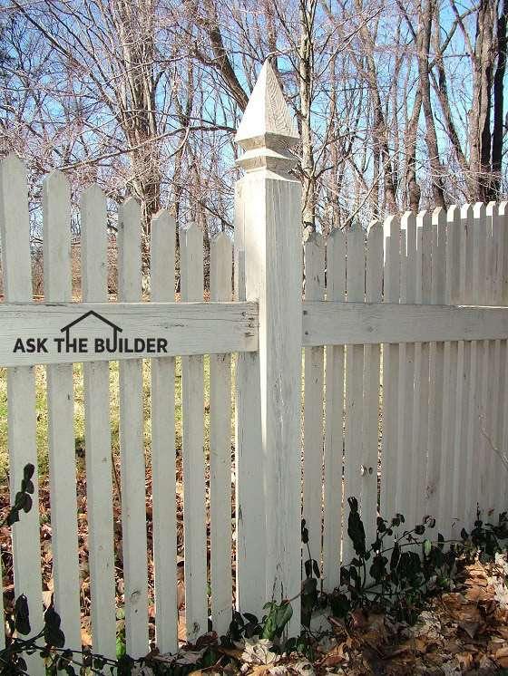 decorative fence post