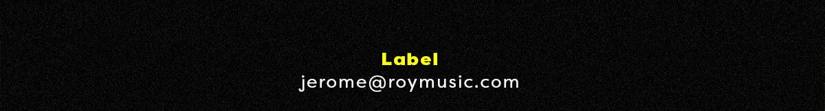 Contact label : Jerome Ghern