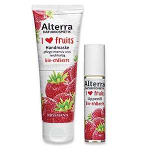 "Alterra ""I ❤ fruits"" mit Bio-Erdbeere"