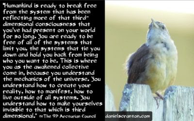 break free from bondage and become sovereign - the 9th dimensional arcturian council - channeled by daniel scranton, channeler of archangel michael