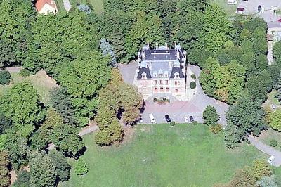le château de la bachasse, près de lyon.
