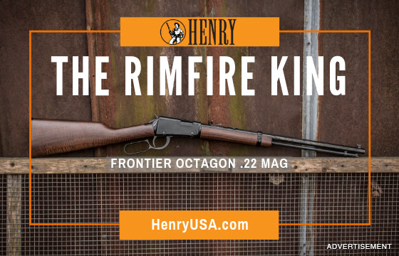 Henry's Lever Action Octagon Frontier .22 Mag Is A Timeless Workhorse