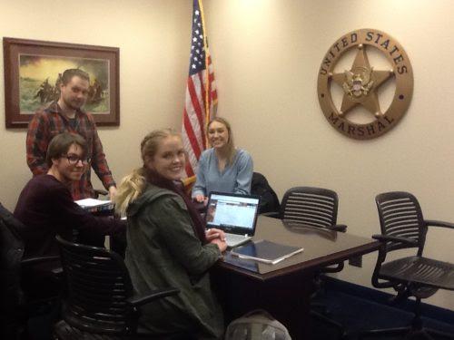 English students at FBI training