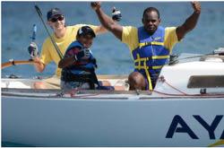 J/22 Jammin Jamaica Ayahso team