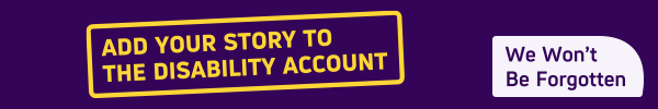Add your story to The Disability Account