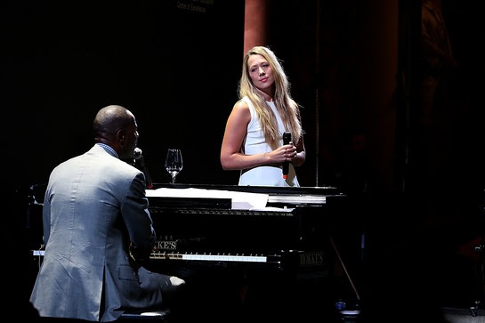 Brian McKnight and Colbie Caillat