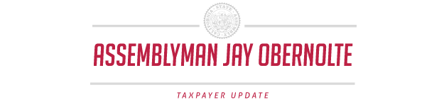 Asm. Jay Obernolte: Taxpayer Update