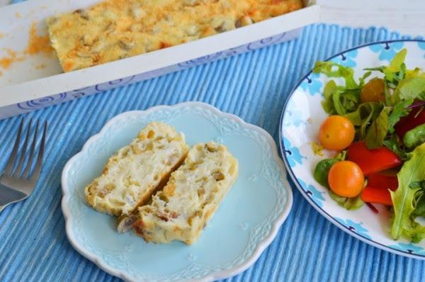 פשטידת גבינות וזיתים