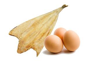 북어, 달걀