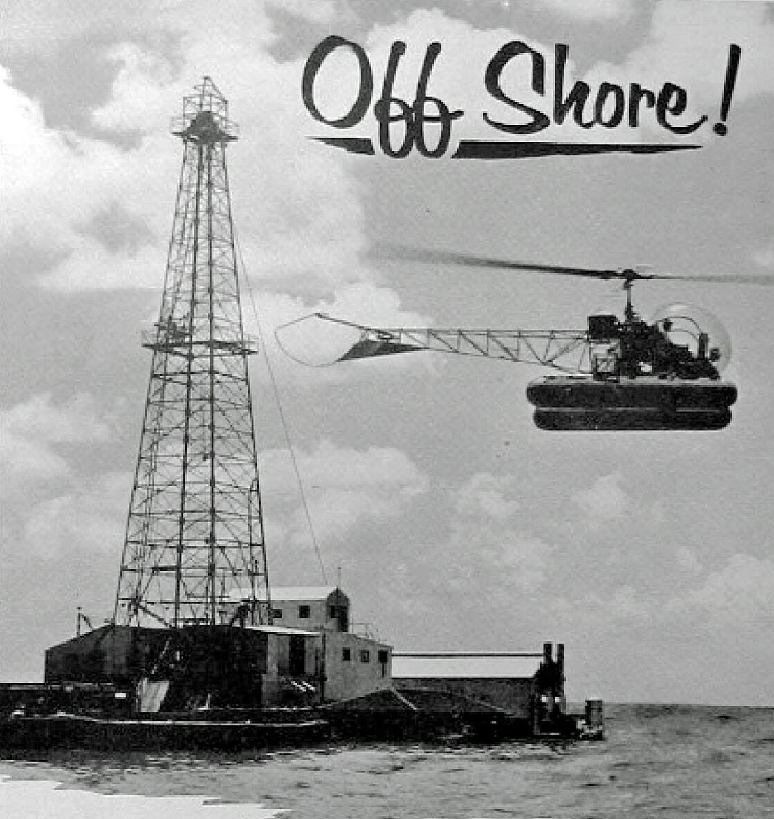 Offshore Bell Helicopter 1954 AOGHS