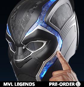 Marvel Legends Black Panther 1:1 Scale Wearable Helmet