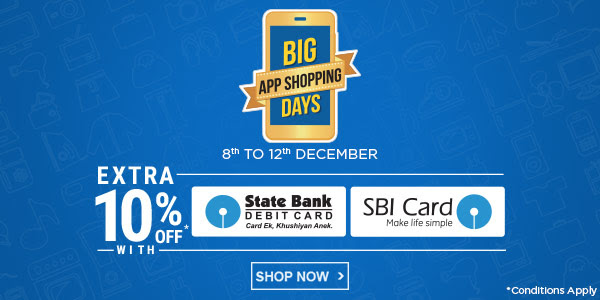 Extra 10% Off on SBI Debit and Credit Cards