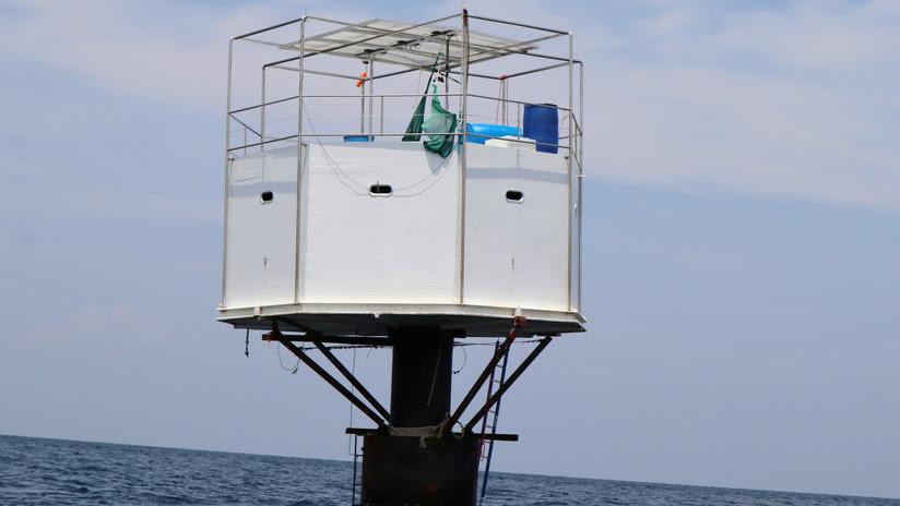 Un inversor en bitcoines y su novia podrían ser condenados a muerte por construir una casa en alta mar frente a Tailandia (VIDEO)