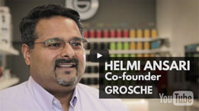 Helmi Ansari - Co-founder Grosche