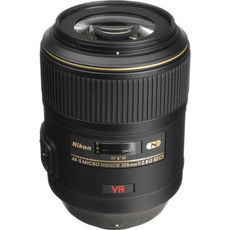 105mm f/2.8G ED-IF AF-S VR Micro NIKKOR Lens - U.S.A. Warranty