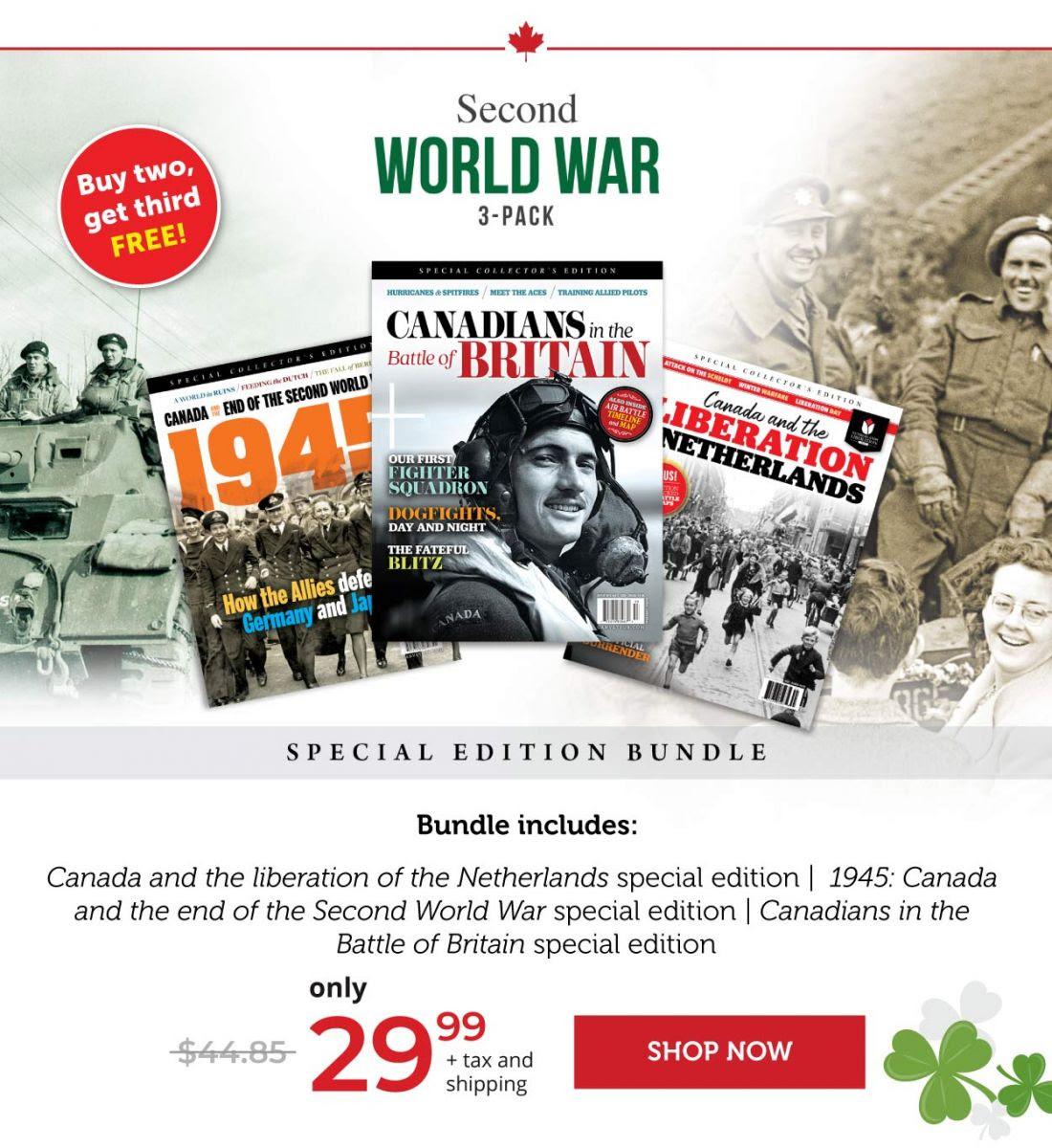 Second World War 3 Pack