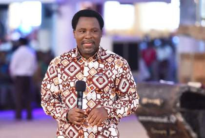 Ending This Fearful Year Prophesied By Prophet TB Joshua