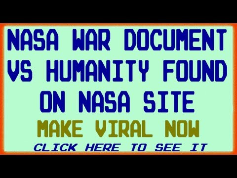 NASA Official Documents Reveal Depopulation Plan! Massive 2025 Culling in the Works NOW!