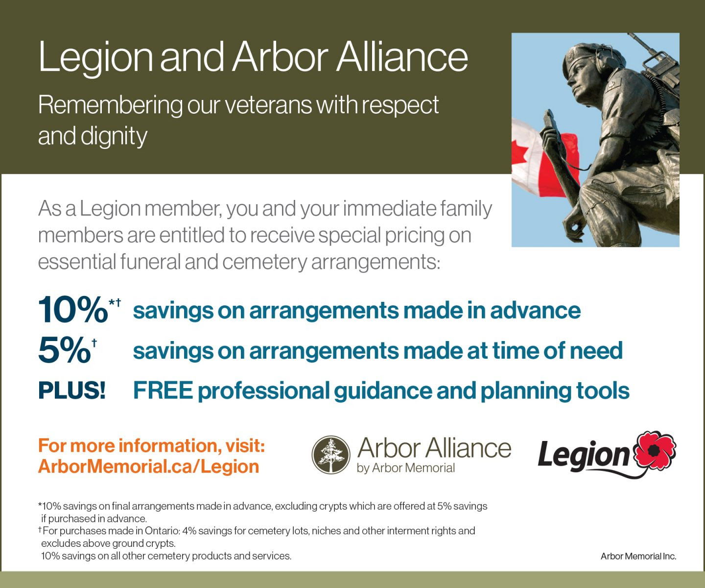 Legion and Arbor Alliance