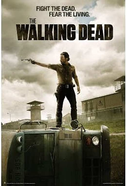 Amazon.com: (40x60) The Walking Dead - Season 3 Jailhouse Huge TV Poster:  Prints: Posters & Prints