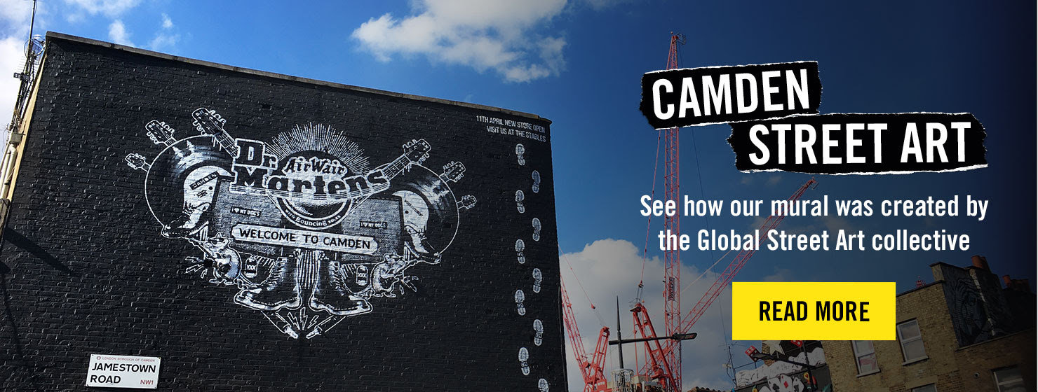 CAMDEN STREET ART - See how our mural was created by the Global Street Art collective - READ ON THE BLOG
