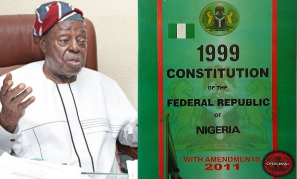 1999 constitution is the reason Nigeria remains poor - Afe Babalola